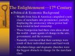 the enlightenment 17 th century2