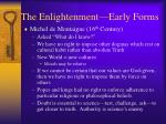 the enlightenment early forms1