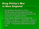 king phillip s war in new england
