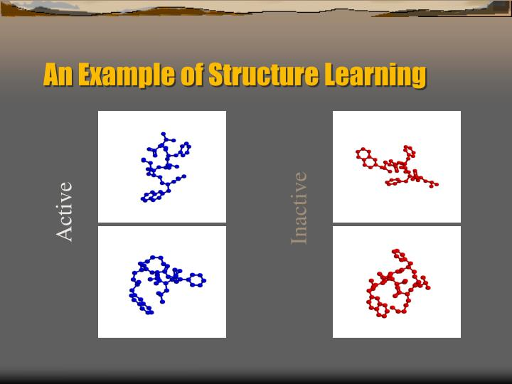 An Example of Structure Learning