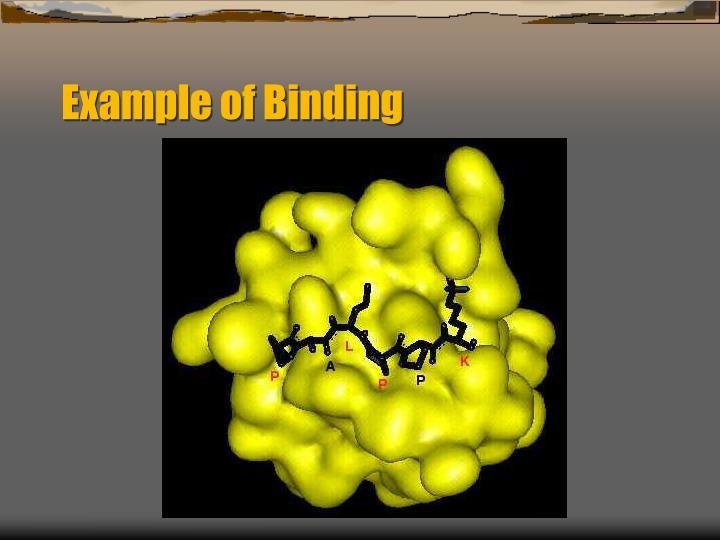 Example of Binding