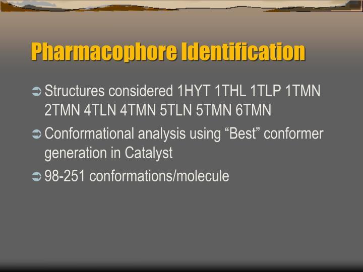 Pharmacophore Identification