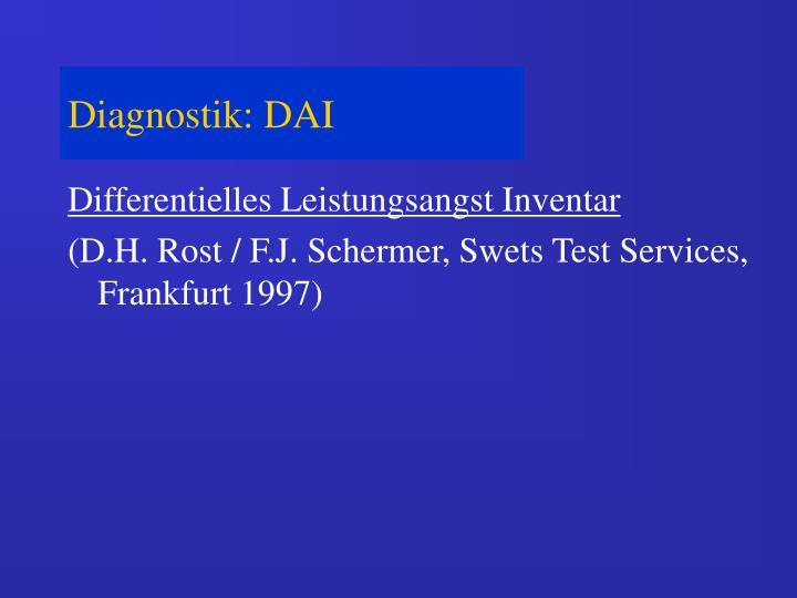 Diagnostik: DAI
