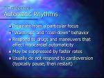 svt mechanisms automatic rhythms