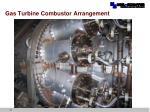 gas turbine combustor arrangement