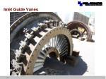 inlet guide vanes