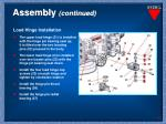 assembly continued