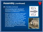 assembly continued10