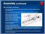 assembly continued8