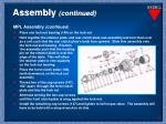 assembly continued9