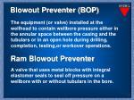 blowout preventer bop