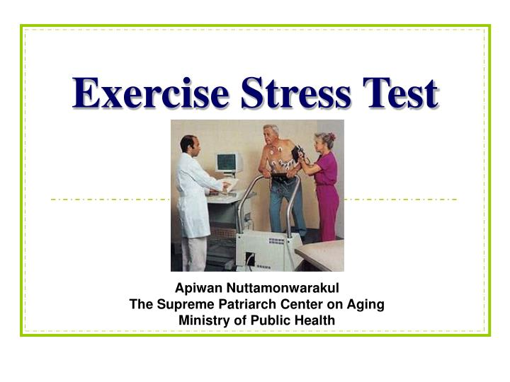 exercise stress test n.