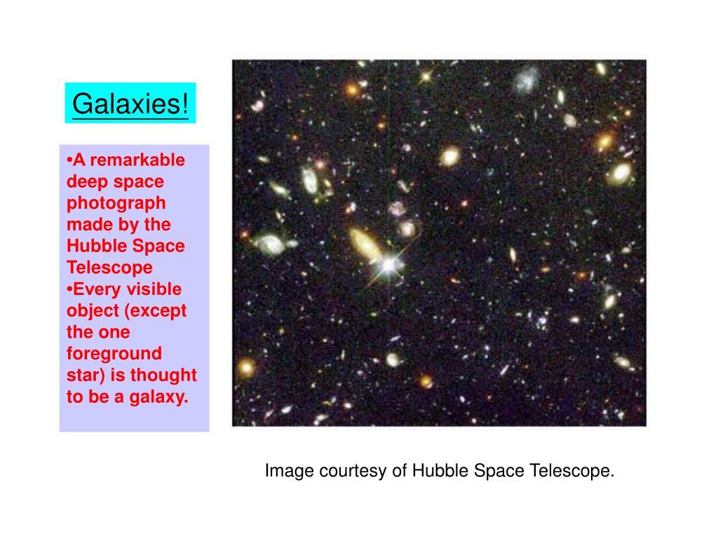 Galaxies!