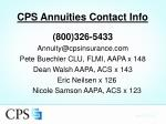 cps annuities contact info