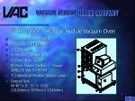 configuration multiple module vacuum oven