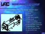 module assembly multiple module vacuum oven