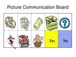 picture communication board