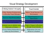 visual strategy development