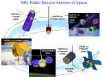 nrl radio beacon sensors in space