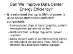 can we improve data center energy efficiency1