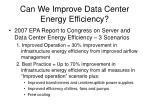 can we improve data center energy efficiency3