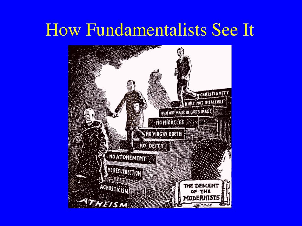 How Fundamentalists See It