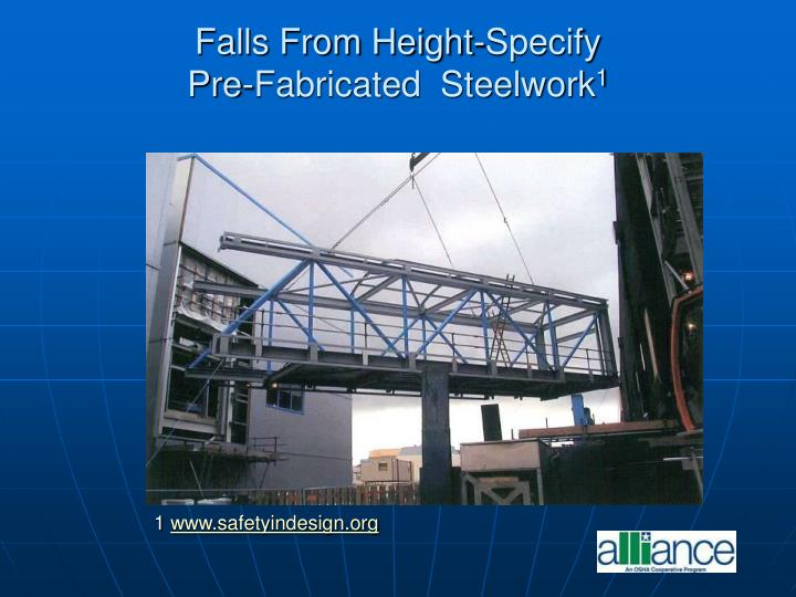 Falls From Height-Specify