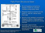 falls from structural steel1