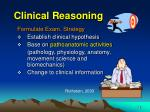 clinical reasoning1