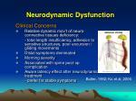 neurodynamic dysfunction1