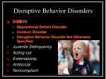 disruptive behavior disorders1