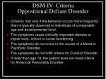 dsm iv criteria oppositional defiant disorder1