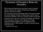 treatment of disruptive behavior disorders2