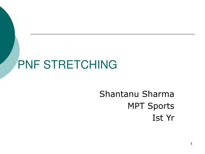 pnf stretching n.