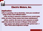 electric motors inc3