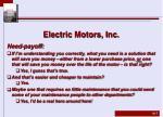 electric motors inc4