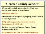 genesee county accident