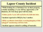 lapeer county incident