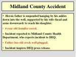 midland county accident