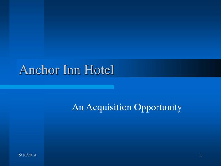 anchor inn hotel n.