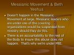 messianic movement beth yeshua14