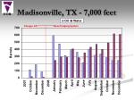 madisonville tx 7 000 feet