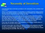 necessity of invention1
