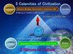 5 calamities of civilization
