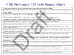 pde verification 101 with knupp ober
