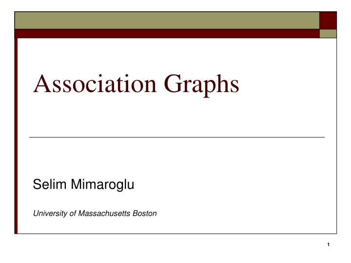 Association graphs