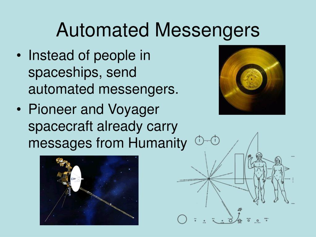 Automated Messengers