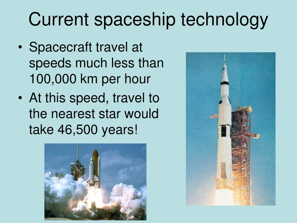 Current spaceship technology