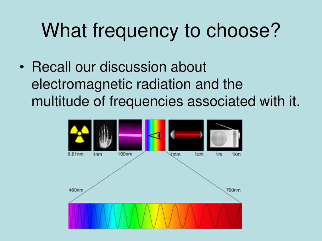 What frequency to choose?
