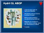 hydril gl abop1